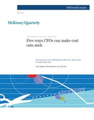 McKinsey Quarterly - May 2010