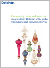 Deloitte - Outsourcing Today and Tomorrow - Nov 2012